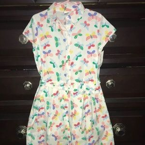 Carter's Little Girls Butterfly Dress